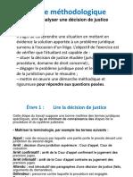 Methodologie Basique Pour l'Analyse De_jurisprudence