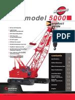 Manitowoc Model 5000