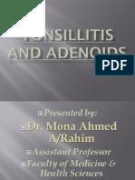Tonsillitis and Adenoids
