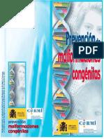Prevención de Malformaciones Congénitas ((Folleto)