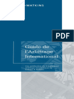 2013 Guide to International Arbitration French Edition