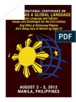 Filipino Global Language 3rd International Conference Program