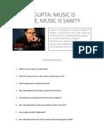 Robert Gupta Music is Medicine Ted Talk Worksheet Conversation Topics Dialogs 91880 (1)