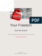 Your Freedom User Guide-Es