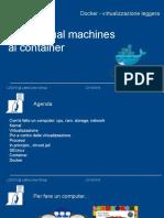 Docker - Container spiegati da zero