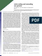 Distinguishing Protein-Coding Noncoding Genes in the Human Genome 2007
