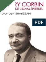 CORBEL Penseur de l Islam Sperituel