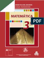Texto Del Docente Tercero Medio Matemática