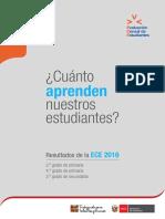 Tacna Resultados Ece 2016