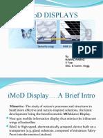 IMOD displays