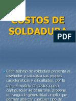 COstos de Soldadura (2016)