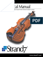 Strand7 Theoretical Manual Contents
