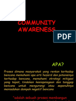 Community Awareness Presentation