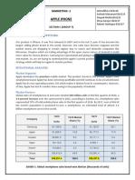IPHONE Market Analysis