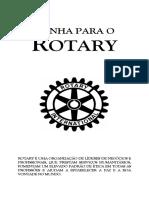 Venha Para o Rotary Livreto de convite