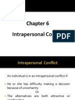 Ch 6 Intrapersonal Conflict