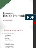 Health Promotion - 2011
