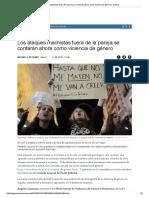 Los Ataques Machistas Fuera de La Pareja Se Contarán Ahora Como Violencia de Género _ Espana, progres == HP a sueldo de Soros y la masonería de la UE