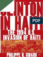 LIVRO - Clinton in Haiti (Girard)