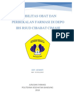 KTI Pengelolaan Perbekalan Farmasi Di IBS(26Jan)