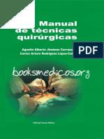 Manual de Tecnicas Quirurgicas_booksmedicos.org