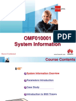 OMF010001 System Information Training 20031001 a 1.4