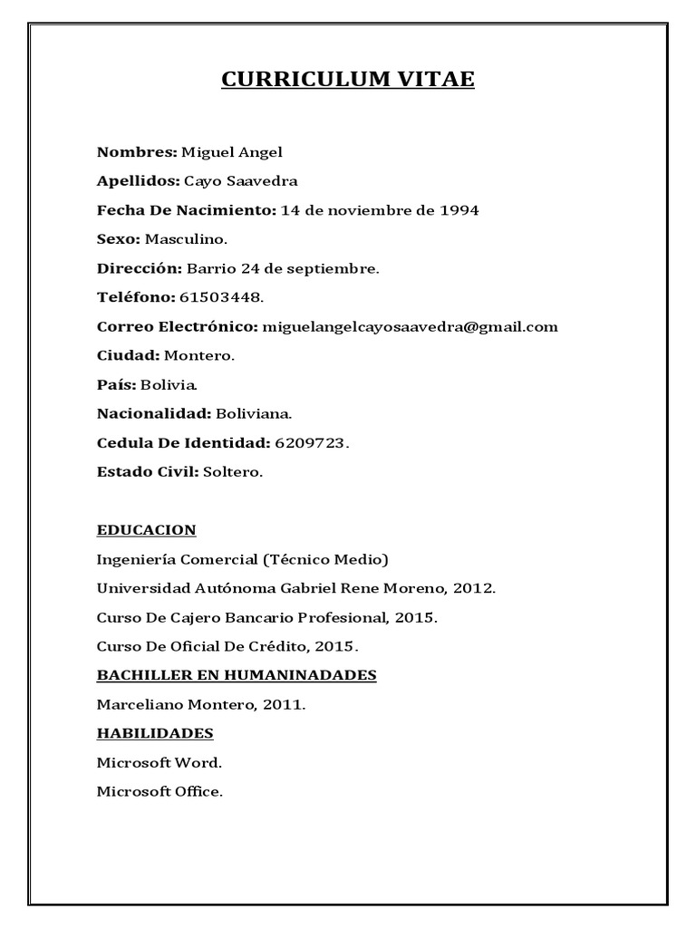 Único Buenas Habilidades Para El Currículum Del Cajero Bancario ...