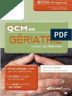 QCM en Gériatrie