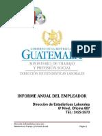 Guía-Informe Del Empleador 2018