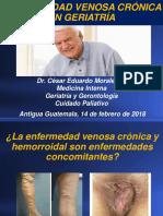 Enfermedad Venosa Cronica en Geriatria