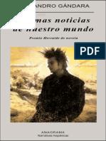 Gandara Alejandro - Ultimas noticias de nuestro mundo.epub