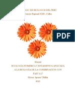 Manual de Ecología Numérica y Estadística Con PAST H APONTE