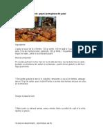 Pataniscas de Marmelo- Gogosi Portugheze Din Gutui