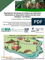 Degradación Microbiana de Residuos de Tratamiento Fitosanitario en Dispositivos Rústicos de Tipo Cama Biológica_ Las Biobacs