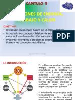Capítulo 3 (Energia Trabajo Calor)