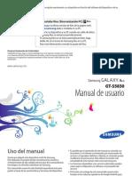 Samsung Galaxy Manual Instrucciones-Orig