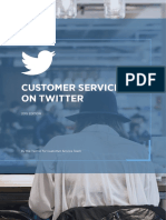 Twitter Customerservice Playbook