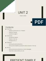 Present continuous vs P simple