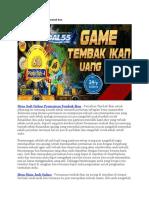 Situs Judi Online Permainan Tembak Ikan