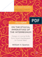 Spanos- On the Ethical Imperatives of the Interrgnum