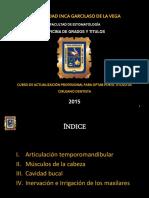 Anatomia Aplicada Cabeza y Cuello Curso de Actualización 2015