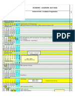 Academic Calendar ENG 1718