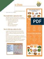 gluten-free diet tipsheet