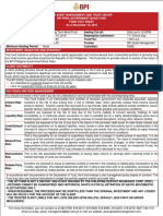 Bpi Pera Gbf Fund Fact Sheet