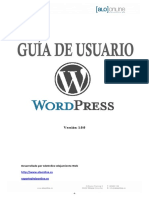Guia de Usuario Wordpress