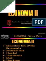 Transparências ECONOMIA Micro e Macro Parte II Resumida