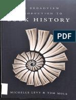 Book History Levy & Mole