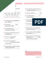 CAE Worksheets