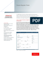 Oracle Data Sheet