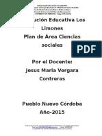 4.-Plan de Area c. Sociales 2015
